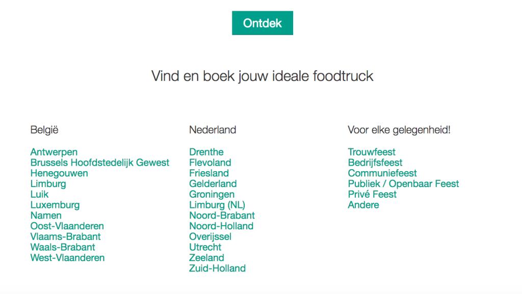 Ontdek nieuwe foodtrucks - Foodtruckbestellen.be