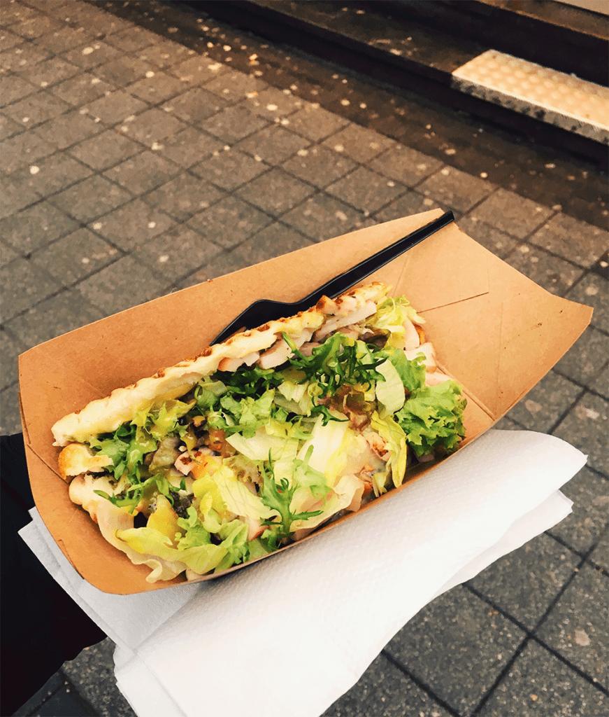 Calzoné van De Tasty Keet Foodtruck