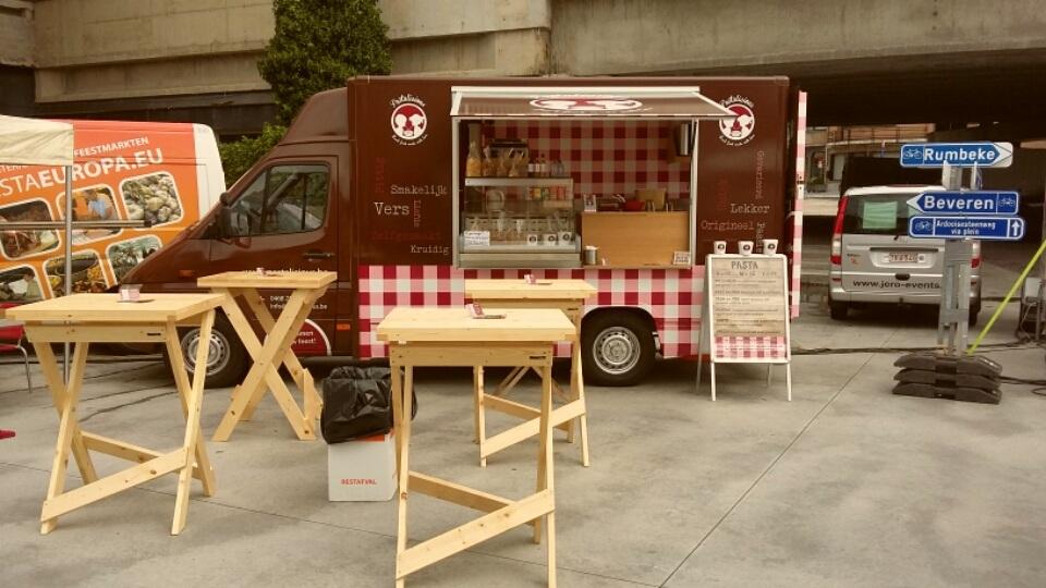 Pasta Foodtruck - Pastalicious - op Foodtruckbestellen.be