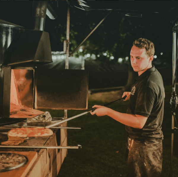 pizza foodtruck Amici Del Forno