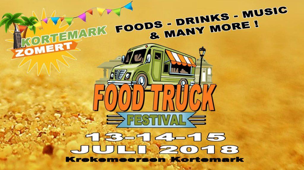 Foodtruckfestival Kortemarkt Zomert