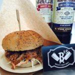 foodtrucks met burgers porc