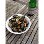 foodtruck met vis mosselen