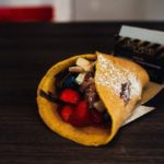 foodtruck met pannenkoeken rol
