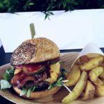 foodtruck met burgers menu
