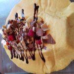 Foodtruck met pannenkoeken choco kebab